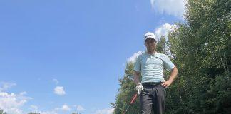 Golfer James Allison