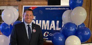 Conservative Member of Parliament Jamie Schmale